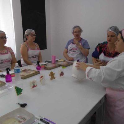 Curso de confeitaria de biscoitos decorados personalizados em São Bernardo do Campo e Santo André